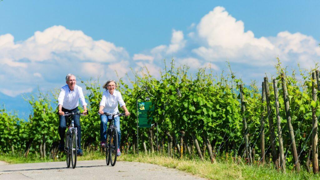 Radeln entlang der Ahr bis zum Hotel zur Post in Altenahr