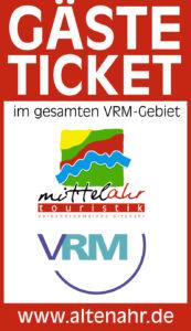 Mittelahr Touristik unterstützt das Gäste-Ticket