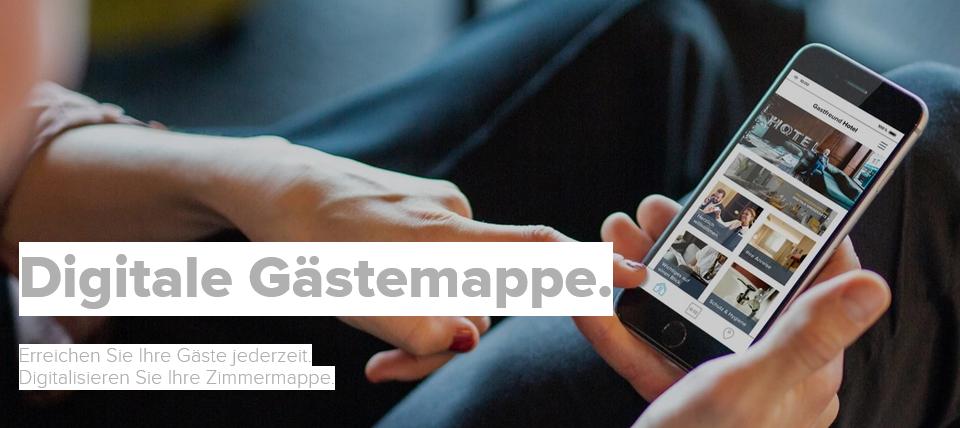 digital informieren mit digitaler Gästemappe